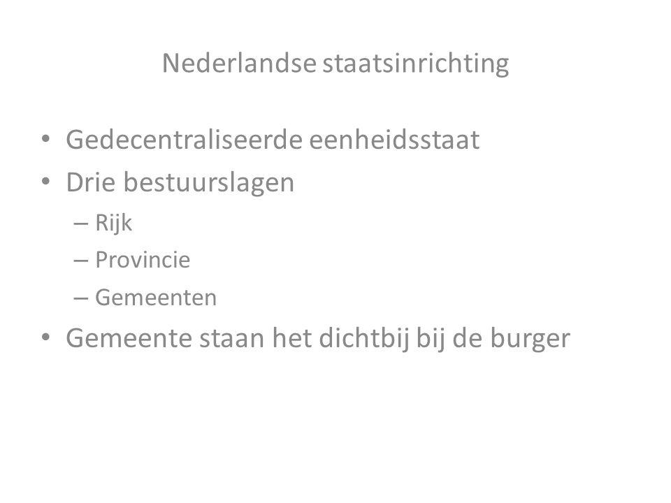 Nederlandse staatsinrichting
