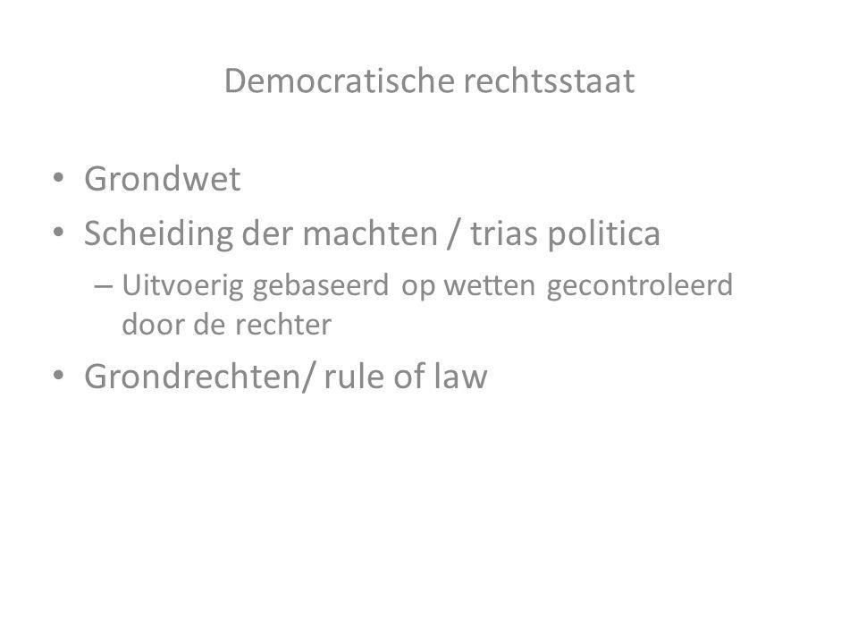 Democratische rechtsstaat