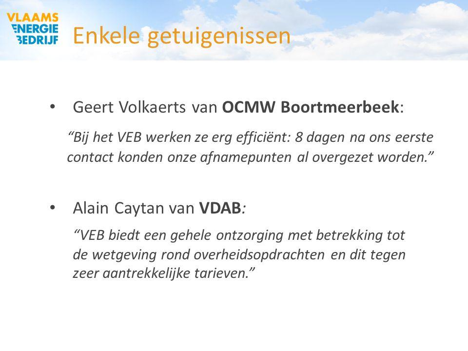OCMW Vlaams-Brabant 03/02/2015. Enkele getuigenissen. Geert Volkaerts van OCMW Boortmeerbeek: