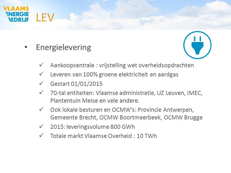OCMW Vlaams-Brabant 03/02/2015. LEV. Energielevering. Aankoopcentrale : vrijstelling wet overheidsopdrachten.