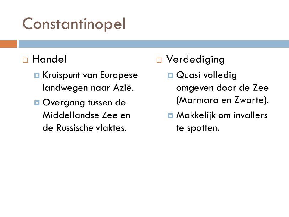 Constantinopel Handel Verdediging