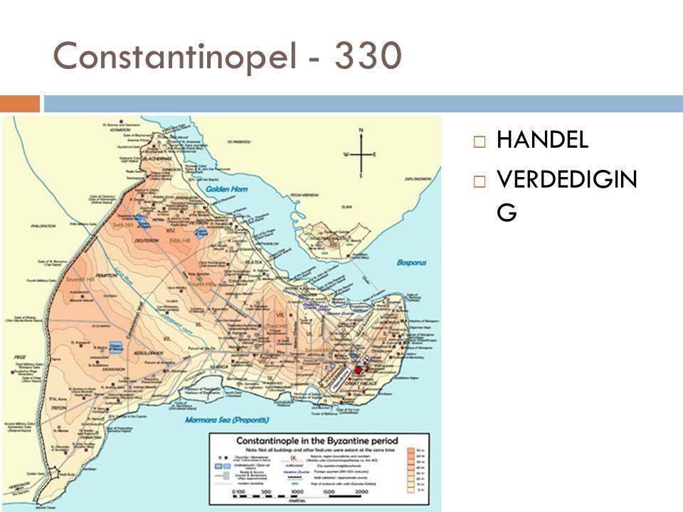 Constantinopel - 330 HANDEL VERDEDIGIN G