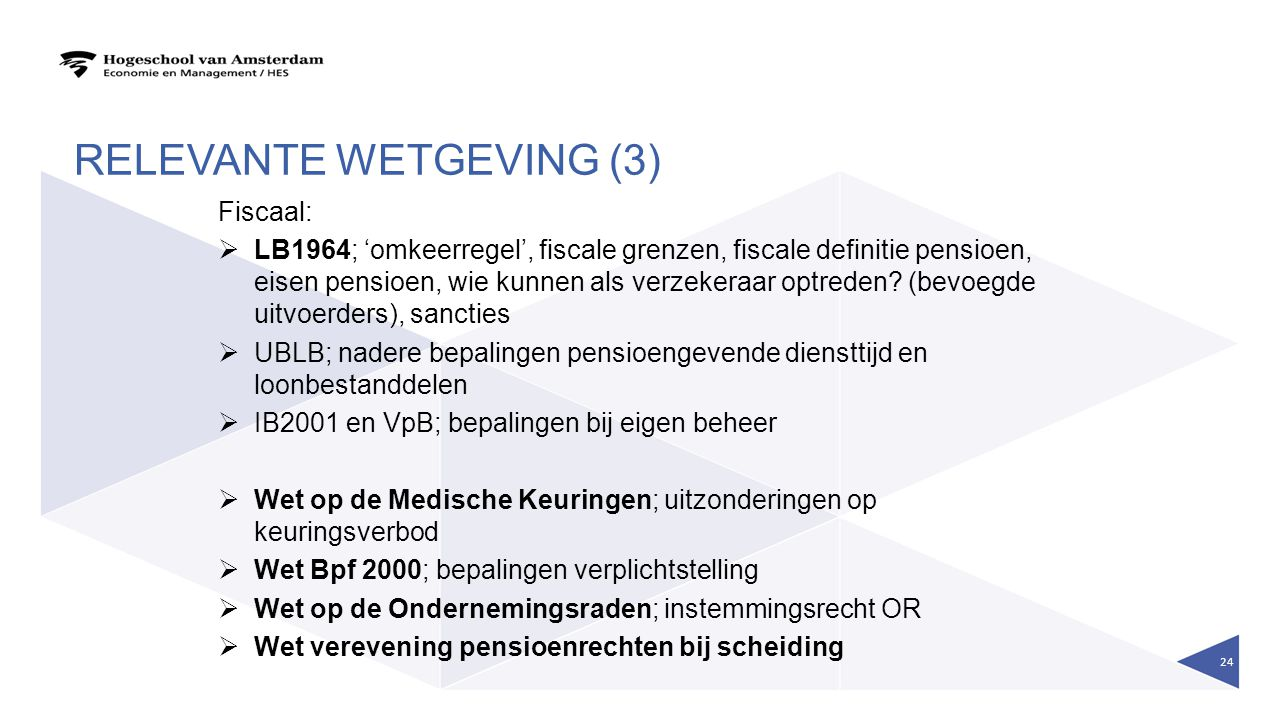 relevante wetgeving (3)