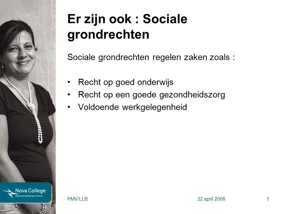 Er zijn ook : Sociale grondrechten