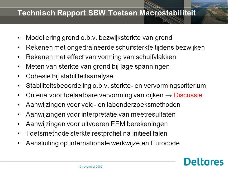 Technisch Rapport SBW Toetsen Macrostabiliteit