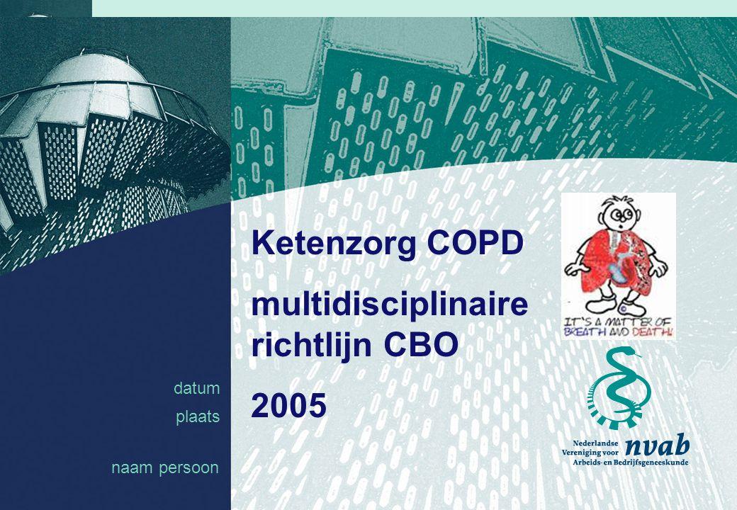 multidisciplinaire richtlijn CBO