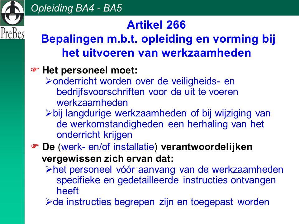 Artikel 266 Bepalingen m. b. t