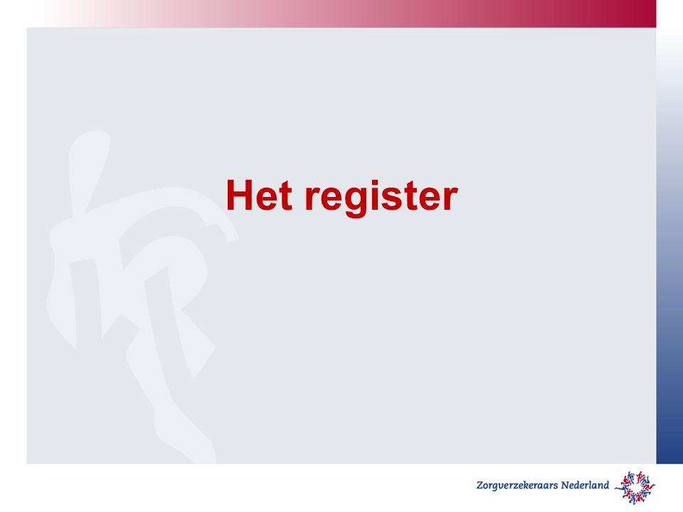 Het register