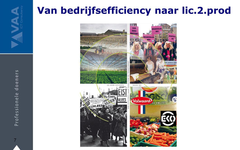 Van bedrijfsefficiency naar lic.2.prod
