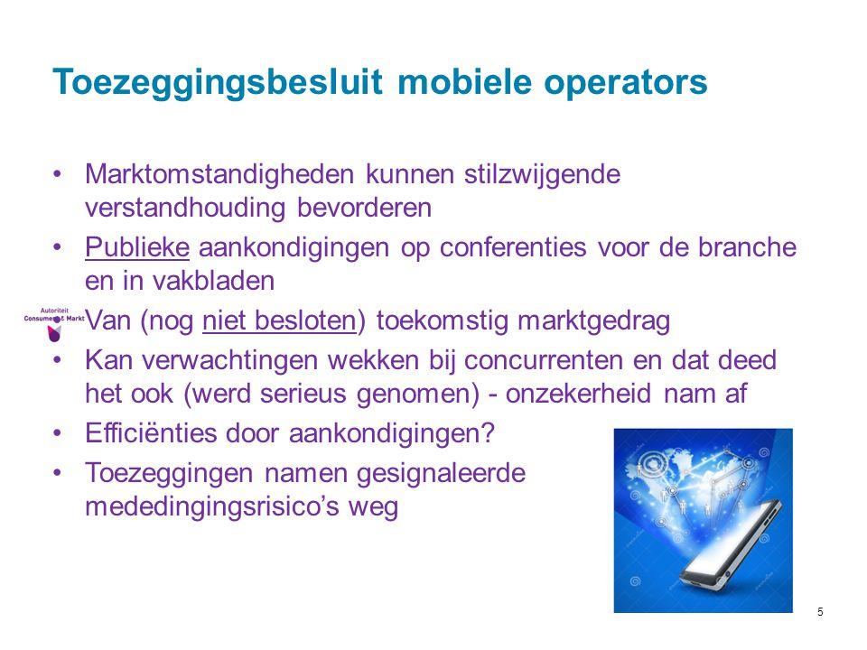 Toezeggingsbesluit mobiele operators
