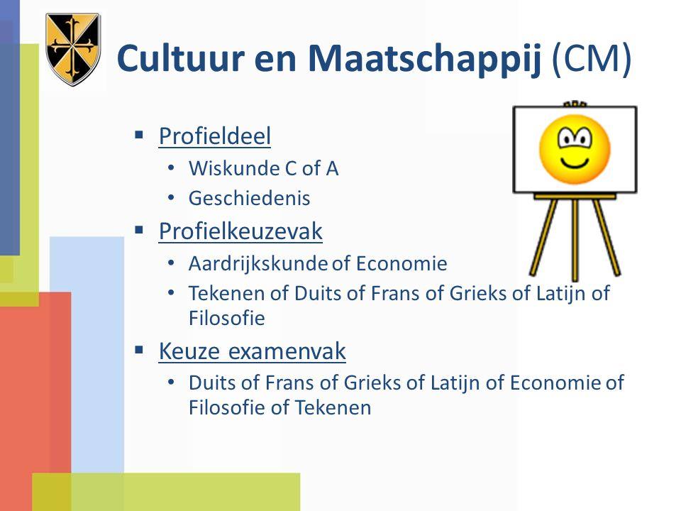 Cultuur en Maatschappij (CM)