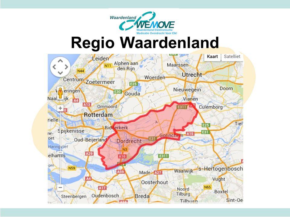 Regio Waardenland Circa 465.000 inwoners