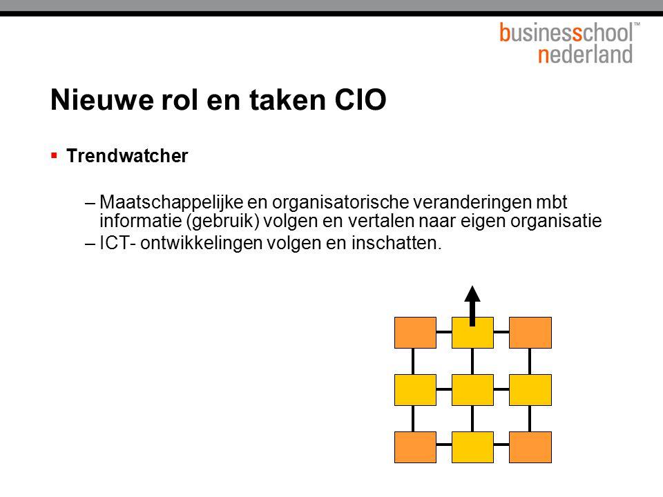 Nieuwe rol en taken CIO Trendwatcher
