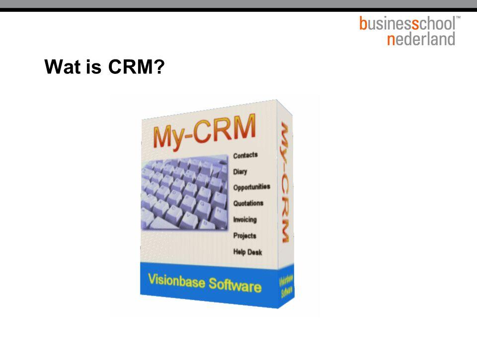 Titel presentatie Wat is CRM Gemeente Amsterdam 1 januari 2003