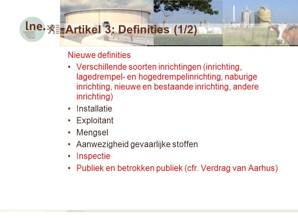 Artikel 3: Definities (1/2)