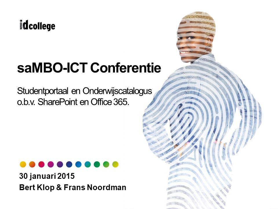 saMBO-ICT Conferentie