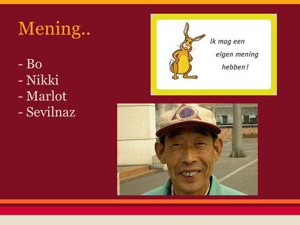 Mening.. - Bo - Nikki - Marlot - Sevilnaz