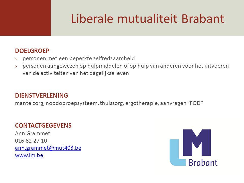 Liberale mutualiteit Brabant