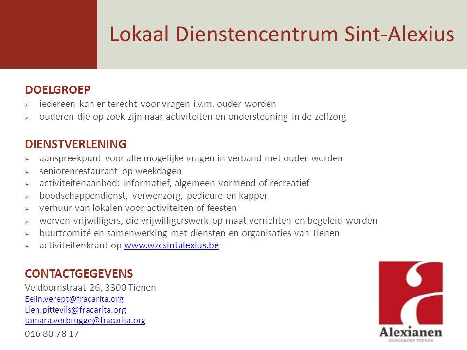 Lokaal Dienstencentrum Sint-Alexius