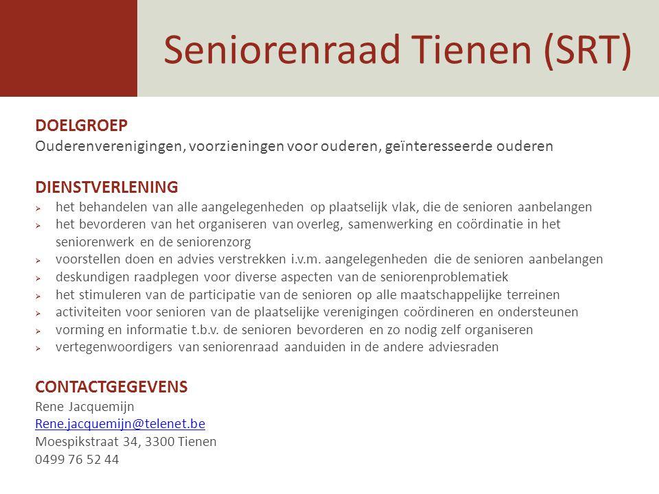 Seniorenraad Tienen (SRT)