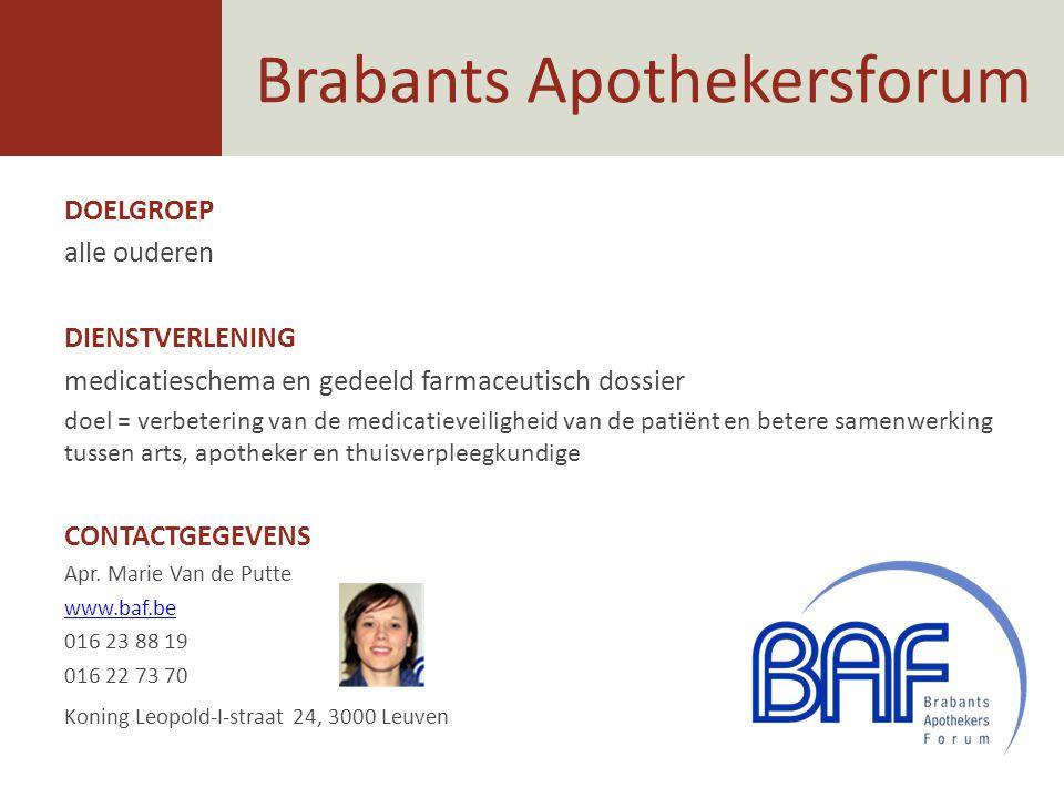 Brabants Apothekersforum
