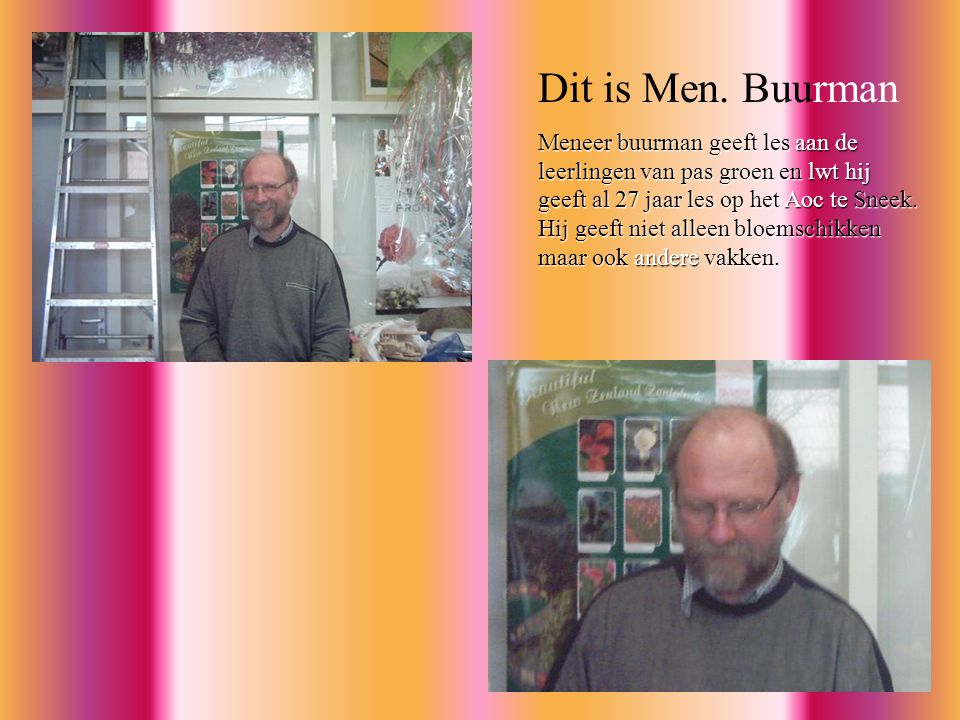 Dit is Men. Buurman