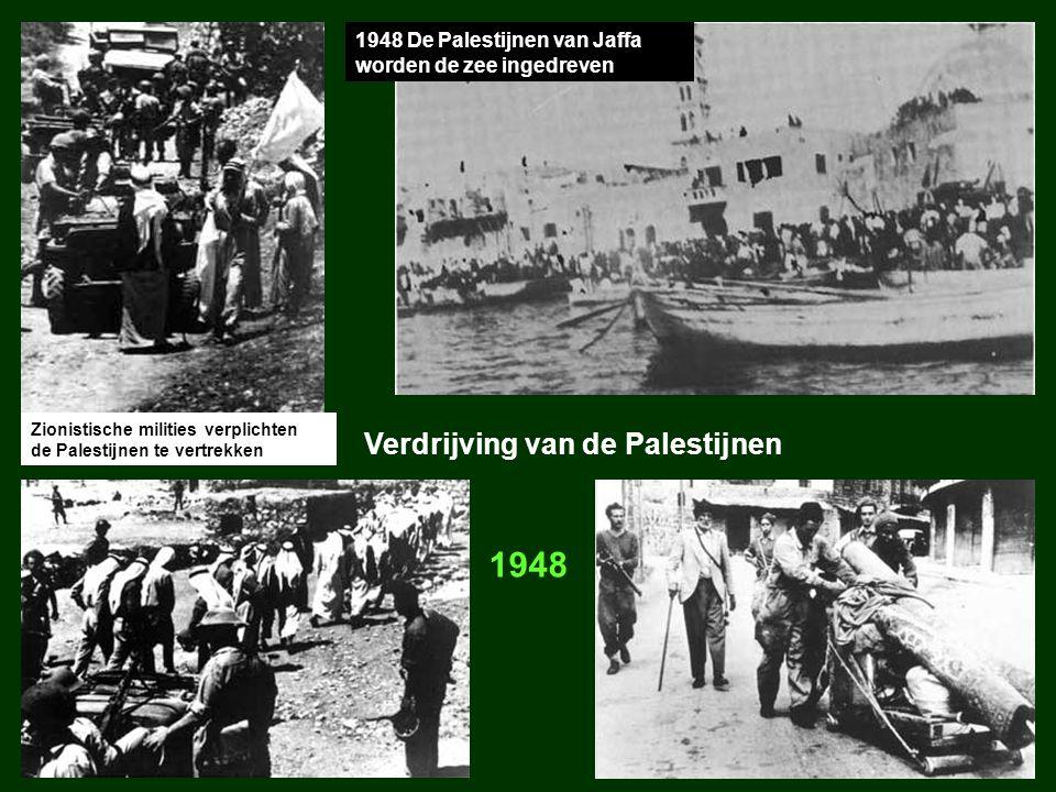 1948 Verdrijving van de Palestijnen