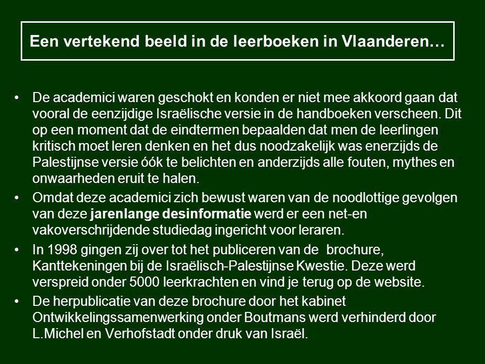 Een vertekend beeld in de leerboeken in Vlaanderen…