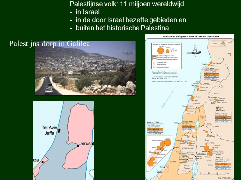 Palestijns dorp in Galilea