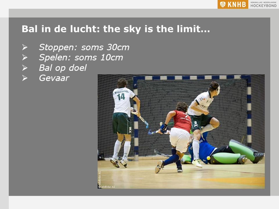 Bal in de lucht: the sky is the limit…