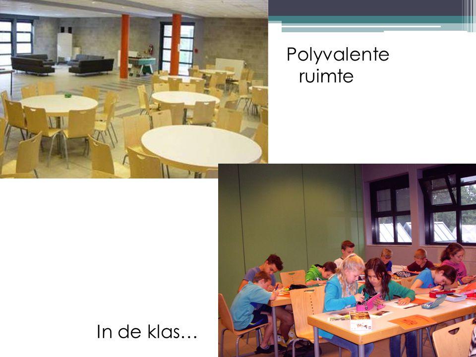 Polyvalente ruimte In de klas…