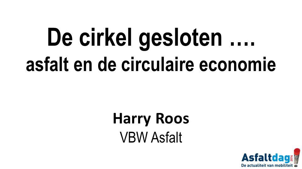 asfalt en de circulaire economie