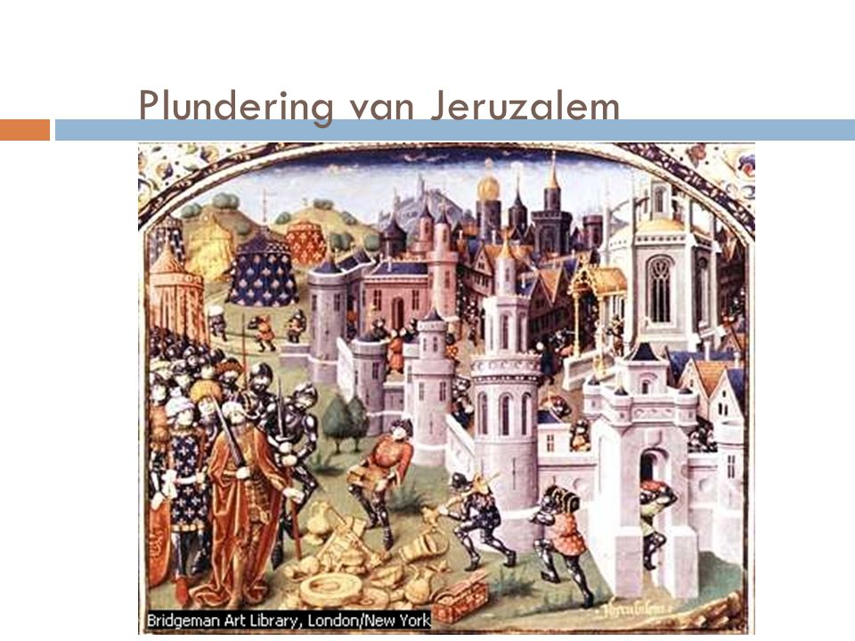 Plundering van Jeruzalem