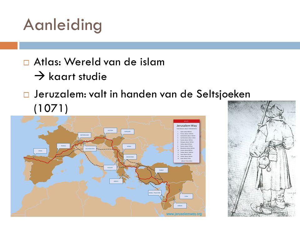 Aanleiding Atlas: Wereld van de islam  kaart studie