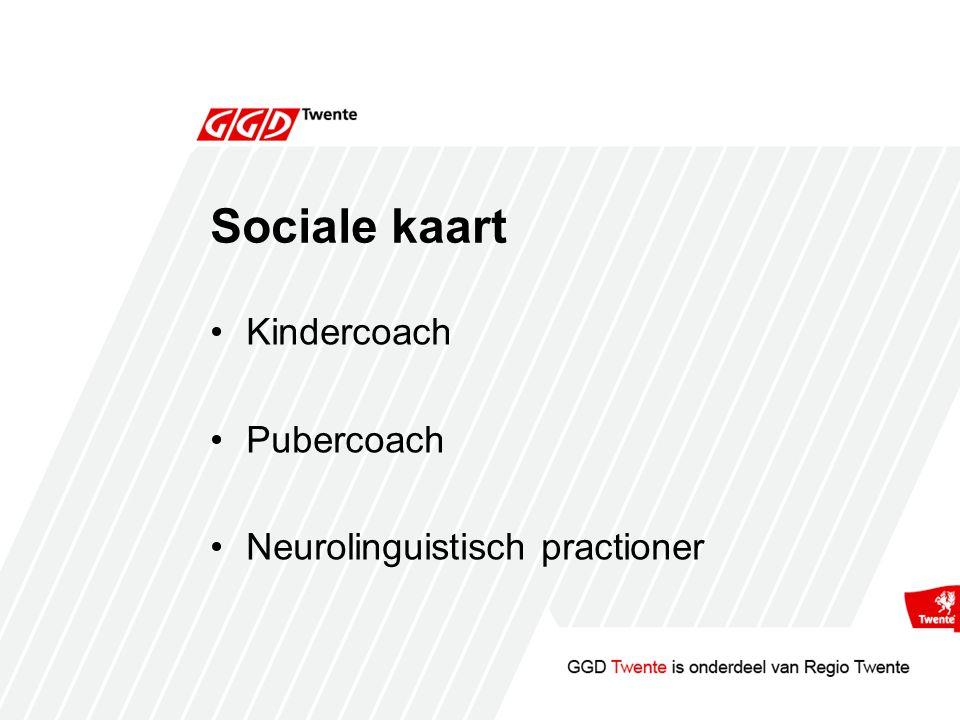 Sociale kaart Kindercoach Pubercoach Neurolinguistisch practioner