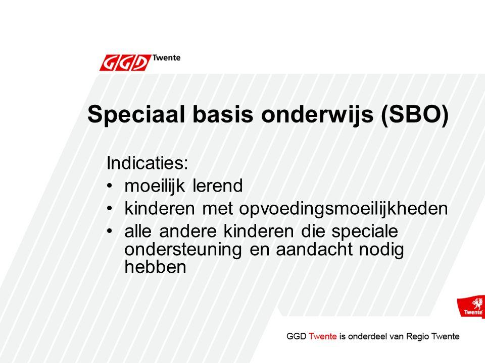 Speciaal basis onderwijs (SBO)