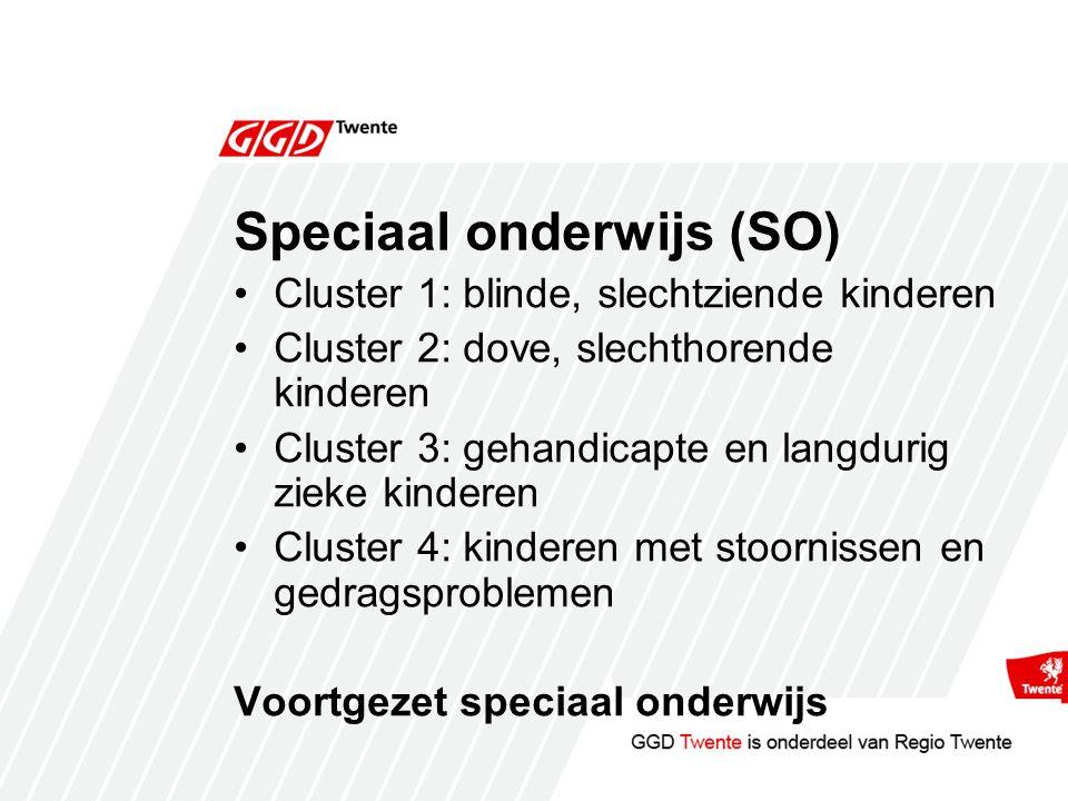 Speciaal onderwijs (SO)