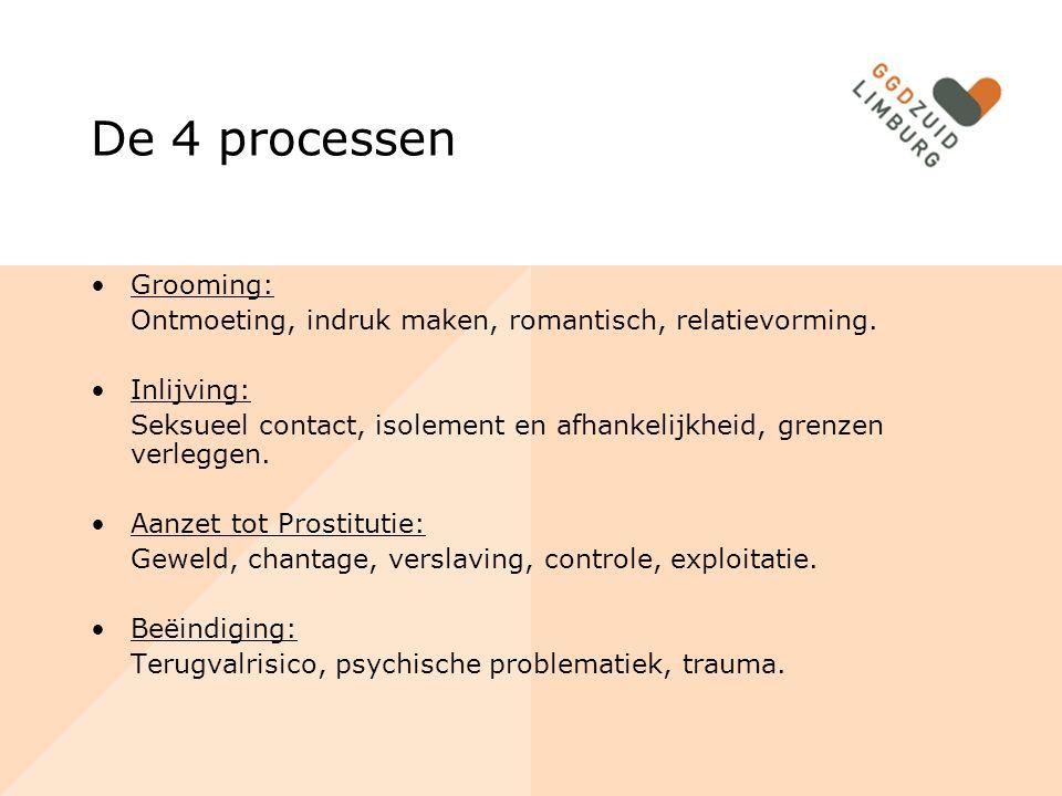 De 4 processen Grooming: