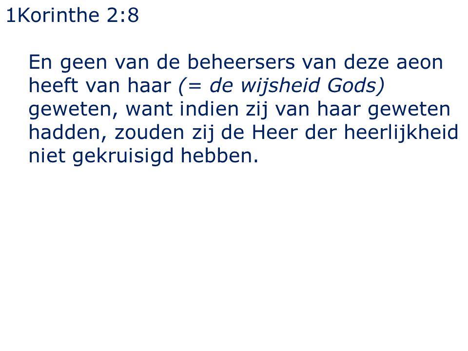 1Korinthe 2:8