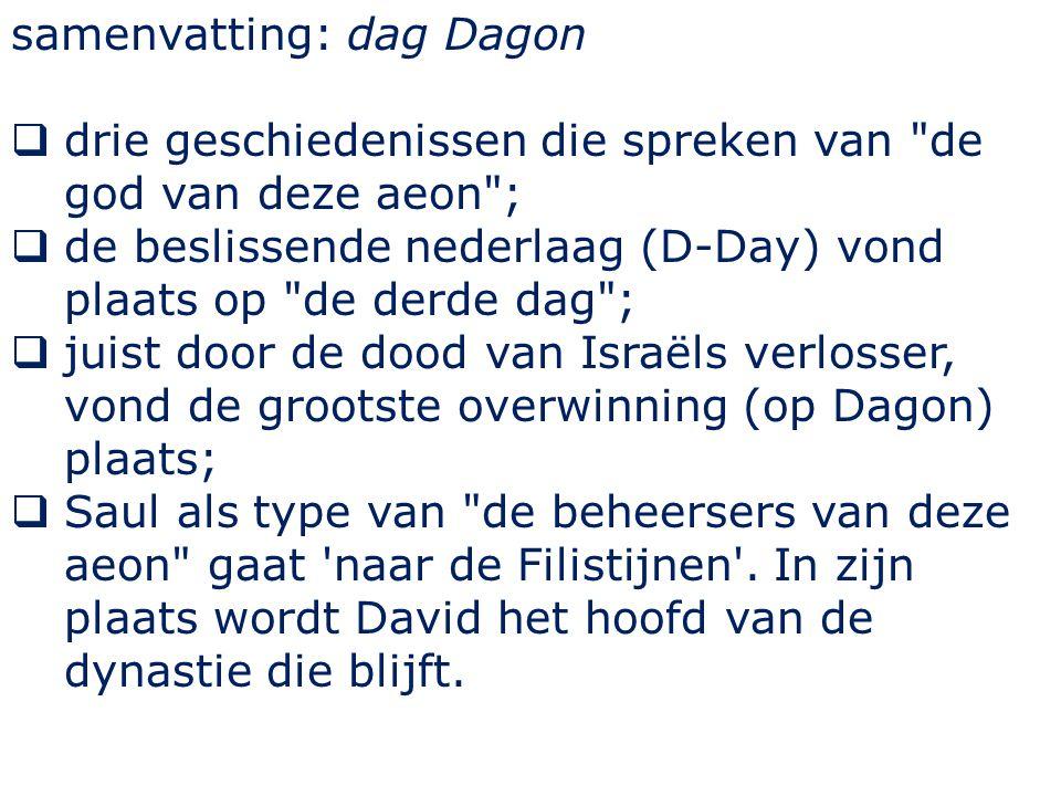 samenvatting: dag Dagon