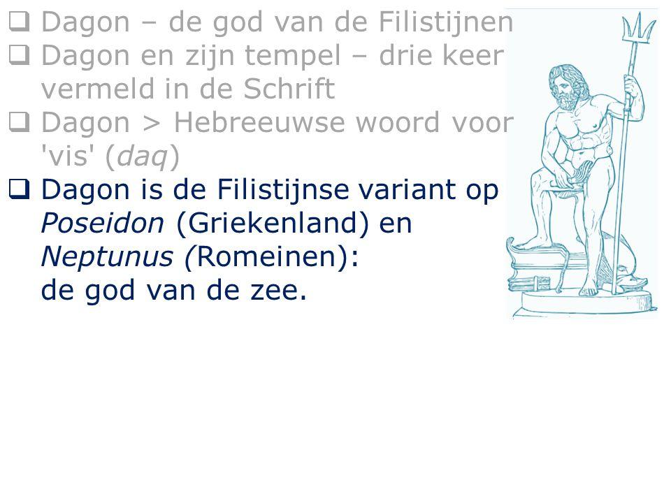 Dagon – de god van de Filistijnen