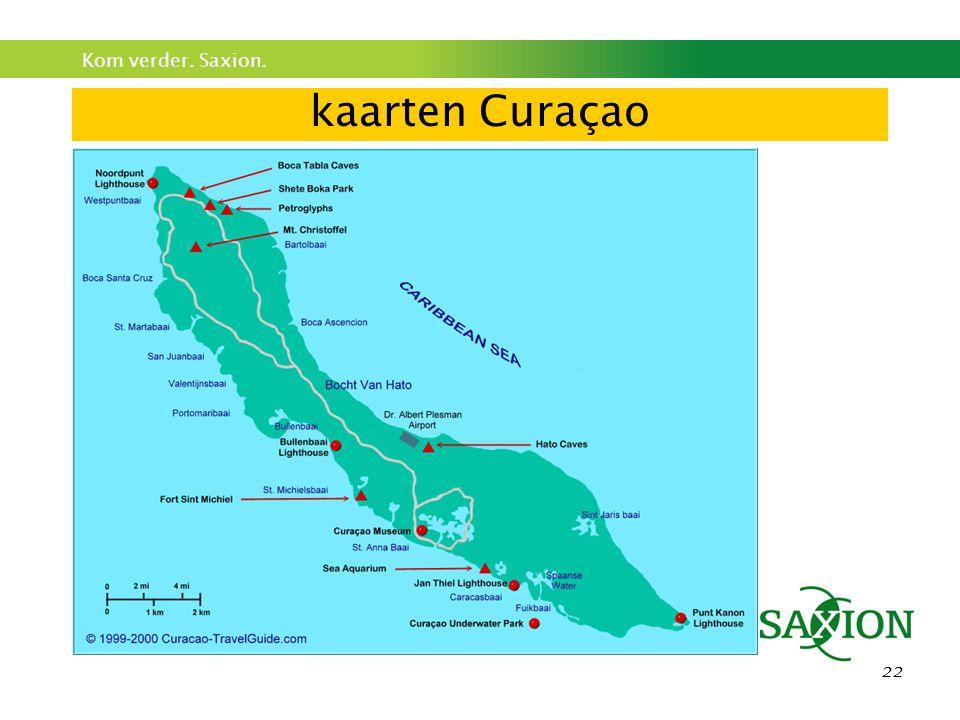kaarten Curaçao