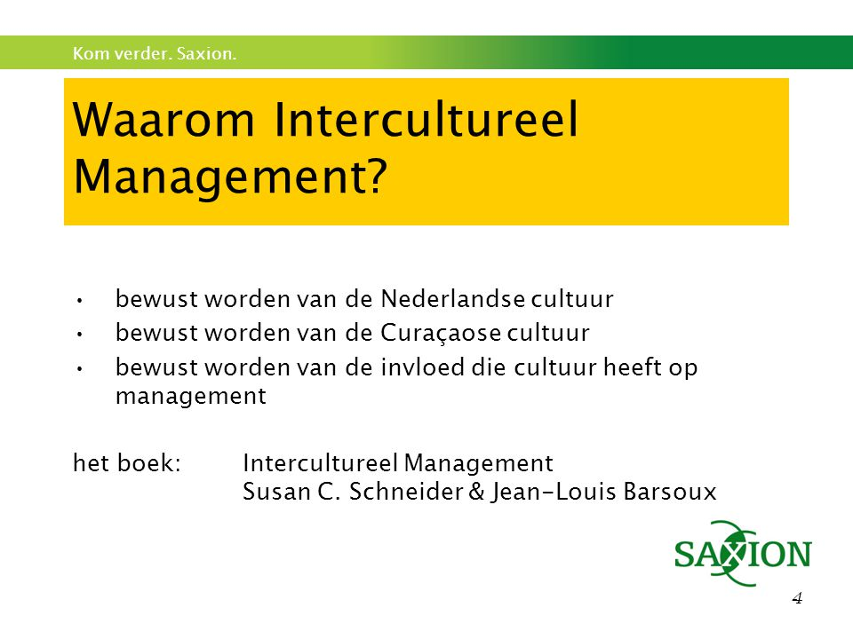Waarom Intercultureel Management