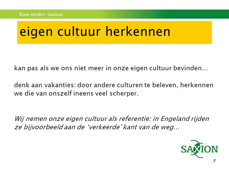 eigen cultuur herkennen