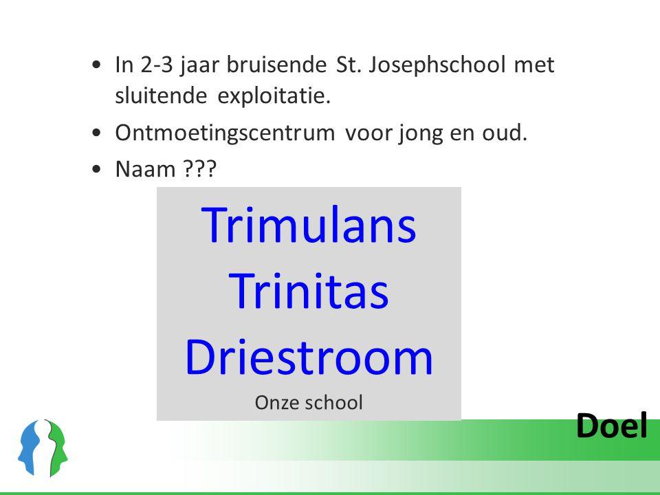 Trimulans Trinitas Driestroom Doel
