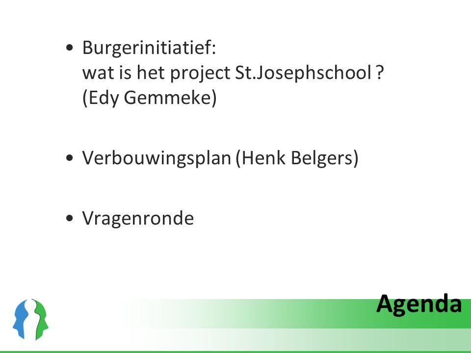 Burgerinitiatief: wat is het project St.Josephschool (Edy Gemmeke)