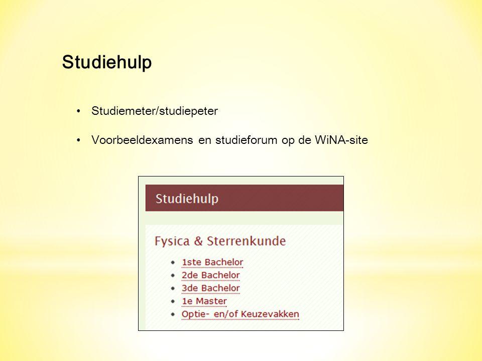 Studiehulp Studiemeter/studiepeter