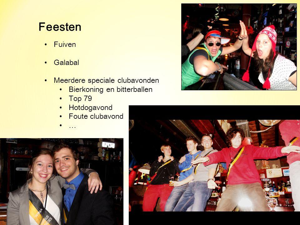 Feesten Fuiven Galabal Meerdere speciale clubavonden
