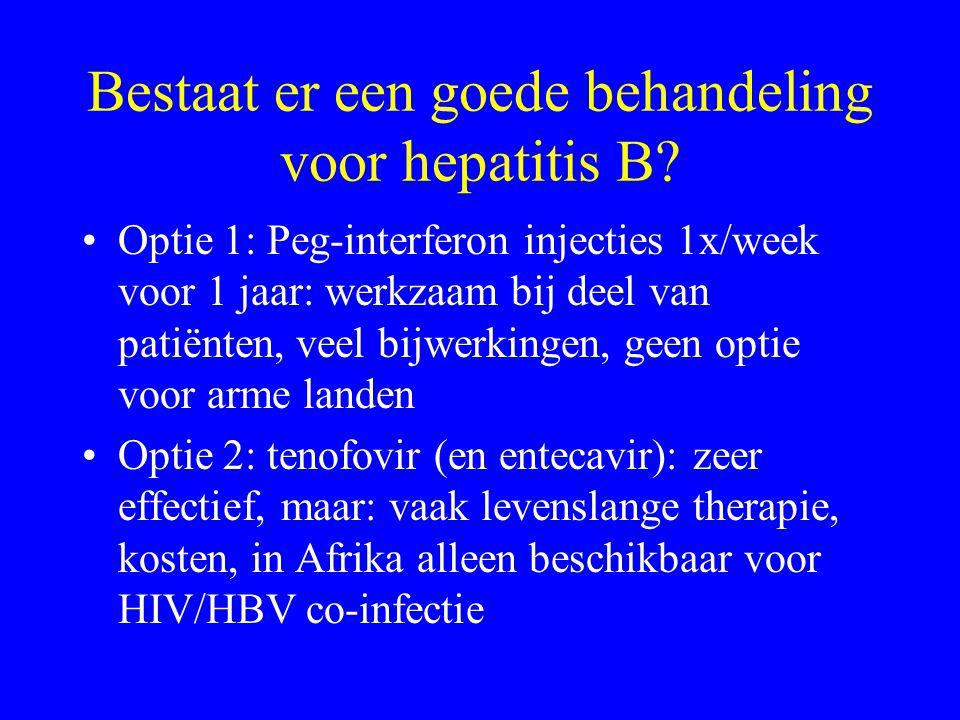Bestaat er een goede behandeling voor hepatitis B