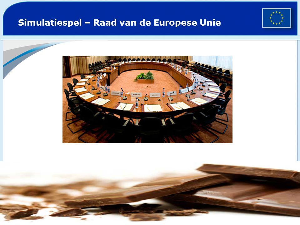 Simulatiespel – Raad van de Europese Unie